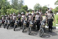 Polizei patrouilliert Lizenzfreie Stockbilder