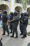 Polizei Russland stockfotos