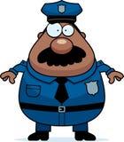 Polizei-Schnurrbart stock abbildung