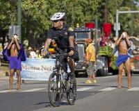 Polizei tätowiert Lizenzfreie Stockbilder