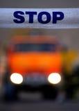 Polizei verbarrikadiert Lizenzfreies Stockfoto
