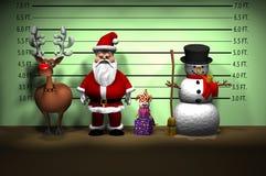 Polizeianordnung VORHER Lizenzfreies Stockfoto