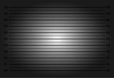 Polizeiaufstellung oder Mugshothintergrund Lizenzfreie Stockfotografie