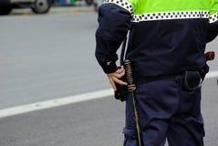 Polizeibeamte Stockfoto