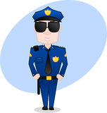 Polizeibeamte Stockfotografie