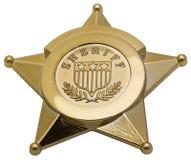 Polizeichef-Abzeichen Stockfotos