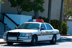 Polizeichefkreuzer-Polizeiwagen Lizenzfreies Stockbild