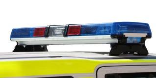 Polizeifahrzeug-Leuchten. Lizenzfreies Stockbild