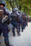 Polizeikräfte stockfotos