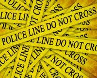 Polizeiliche Untersuchung Lizenzfreies Stockbild