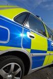 Polizeireflexion Lizenzfreie Stockbilder