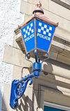 Polizeirevier Stockfotografie