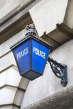 Polizeirevierzeichen Lizenzfreie Stockfotografie