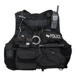 PolizeiSchutzkleidung Lizenzfreies Stockfoto