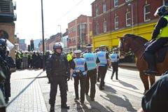 Polizeiunterhändler und Verbindungsoffiziere Stockbilder