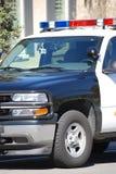 Polizeiwagen lizenzfreies stockbild