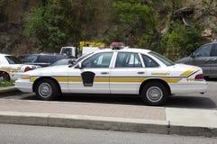 Polizeiwagen stockfoto