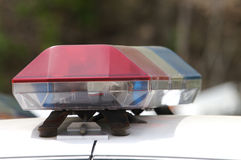 Polizeiwagen-Detail Lizenzfreie Stockfotografie
