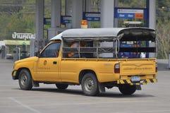 Polizeiwagen für Landstraßenpolizei Lizenzfreies Stockfoto
