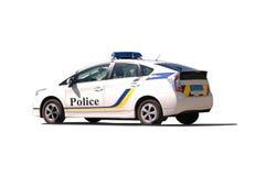 Polizeiwagen getrennt Stockfotografie