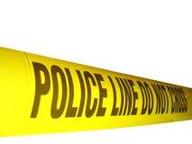 Polizeizeile 2 Lizenzfreies Stockfoto