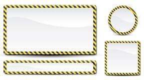 Polizeizeile Zeichen Lizenzfreie Stockbilder