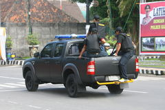 Polizia Fotografia Stock
