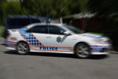Polizia! Immagini Stock Libere da Diritti