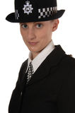 Polizia BRITANNICA femminile Fotografia Stock