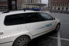 POLIZIA CHE CUSTODICE LA SINAGOGA DELL'EBREO Immagine Stock