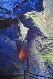 Polizia del lago waterfall di Varone Immagini Stock Libere da Diritti