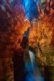 Polizia del lago waterfall di Varone Fotografia Stock