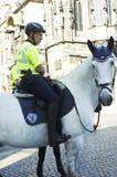 Polizia del turista di Praga Fotografia Stock Libera da Diritti