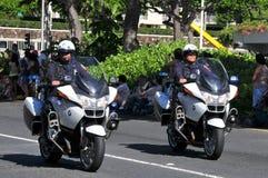 Polizia di aloha, aloha festival 2010 Immagini Stock