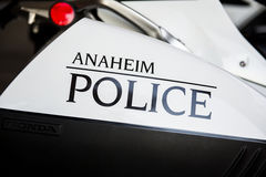 Polizia di Anaheim Fotografia Stock Libera da Diritti