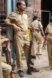 Polizia di Jagannath Puri Fotografia Stock