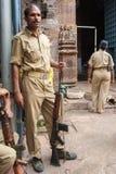 Polizia di Jagannath Puri Fotografia Stock Libera da Diritti