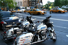Polizia di New York Fotografie Stock