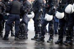 Polizia di tumulto Immagini Stock Libere da Diritti