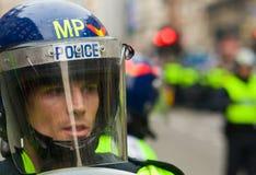 Polizia di tumulto immagini stock
