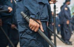 Polizia di tumulto immagine stock libera da diritti