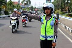 Polizia indonesiana Immagine Stock