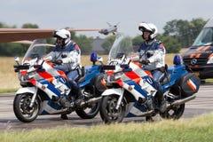 Polizia militare olandese Marechaussee Immagini Stock