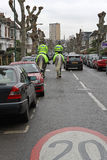 Polizia montata Londra Fotografia Stock
