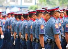 Polizia nazionale filippina Immagini Stock Libere da Diritti