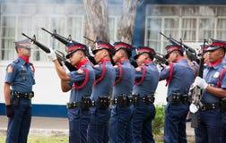 Polizia nazionale filippina Fotografia Stock Libera da Diritti