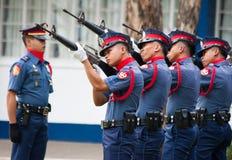 Polizia nazionale filippina Fotografie Stock Libere da Diritti