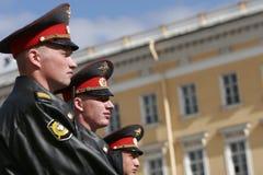 Polizia russa Immagini Stock