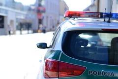 Polizia slovacca Immagini Stock