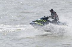 Polizia sui jet ski Immagini Stock Libere da Diritti